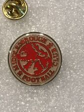 Middlesbrough Fc England Soccer Football Team Lapel Pin Free Ship in Usa