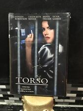 Torso Dvd Video (new Sealed)