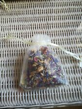 26 bags Natural Flower Confetti in chiffon bags