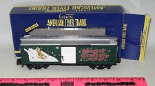 American Flyer ~ 6-48342 american flyer 2001 Christmas boxcar