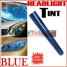 1000mm BLUE Fog Tail Rear Light Headlight Tint Tinting Film Car Van Wrap Sheet