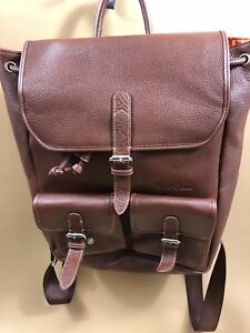 Robert Graham Faux Leather Backpack