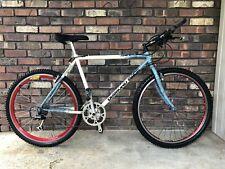 RARE VINTAGE DIAMONDBACK APEX COMP STYLE BLUE/WHITE  MOUNTAIN BICYCLE