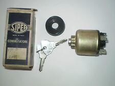 Fiat 850 1500 1800 2100  2300 Ignition Switch- Starter. Genuine N.O.S.Sipea Niki