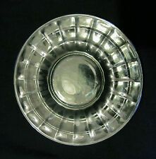 "VTG DEPRESSION CLEAR GREEN GLASS 6 1/4"" B&B PLATE FROM GRANDMAS CUPBOARD~2 AVAIL"