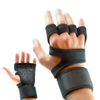 Gym Gloves With Wrist Support Weight Lifting Strap Workout Training Men Women