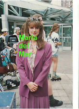 MARIA DEL MAR CANADA CBC STREET LEGAL TV SHOW FILMING SET RARE UNSEEN PHOTO 8X12