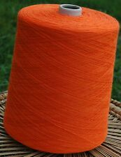 Knitting Machine Yarn Top Quality 3/30s 1.5 Kilos Acrylic Orange IND20.04