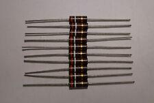 Vintage Resistors 490 Ohm 5 R 224 F Set Of 10 Each New Last Ones
