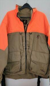 Browning Mens Xxl Bird N Lite Upland Manteau Jacket 733241