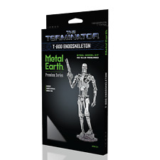 Fascinations Premium Iconx Terminator T-800 Endoskeleton Metal Earth Model Kit