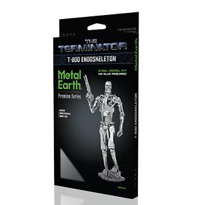 Fascinations Premium ICONX Terminator T-800 Endoskeleton Metal Earth Model Kit