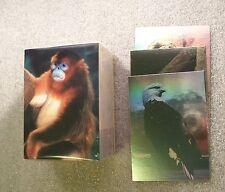 SAN DIEGO ZOO - Animals Wild  Trading Card Set      w/ Holofoil Chase Set