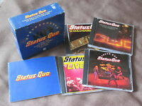 STATUS QUO Great Box JAPAN-ONLY 4CD BOX 72p Booklet PHCR-3129~32 Tokyo Quo