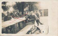 Nr.18212 Foto  PK  K.u.K. Soldaten Dragoner Rgt.4 Feldpost 409 Galizien 1917