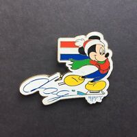 DLP Paris - Mickey Mouse Netherlands / Dag Disney Pin 8886