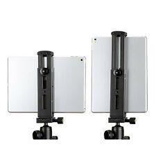 Tablet Tripod Stand Clamp Holder Mount Support Adjustable For iPad Mini/Air/ Pro