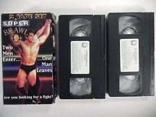 SUPER BRAWL Vol. 4 VHS TAPE SET 1998 MMA UFC OOP ufc