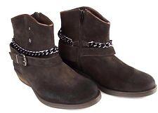 Replay Kingston señora cuero botín chica zapatos botas Woman botas marrón