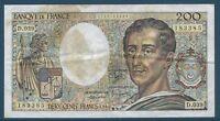 200 FRANCS MONTESQUIEU (1986) D.039 - BILLET DE BANQUE FRANCAIS (TB)