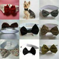 Lovely Dog Cat Pet Puppy Kitten Toy Bow Tie Necktie Collar Clothes Adorable