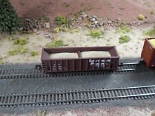 Hay Brothers 2-PIECE SAND LOAD - Fits Walthers N-Scale 41' Ballast Hopper Cars