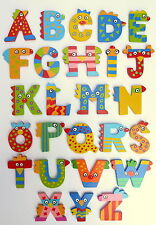 NEW Crazy Bird Wooden Alphabet Letters by Tatiri - BigJigs Wooden Letters