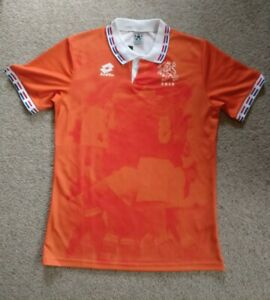 Netherlands Holland Retro Football Shirt 1996, Men's Large, New with Tags