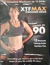 Xtfmax: 90 Day Dvd Workout Program with 12 Exercise Videos. Brand New/Sealed.