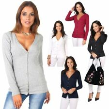 Hip Length Formal Tops & Shirts for Women with Buttons