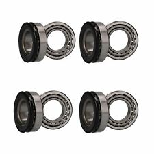 4 x Wheel Bearing Kit for Indespension Beavertail Twin Axle Trailers