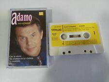 ADAMO CANTA EN ESPAÑOL CINTA TAPE CASSETTE 1982 - AMALGAMA SPAIN EDITION