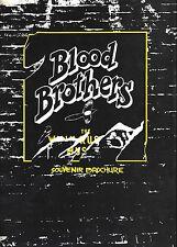 "Barbara Dickson ""BLOOD BROTHERS"" Willy Russell 1983 London Souvenir Program"