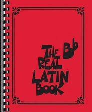 The Real Latin Book Sheet Music B-Flat Instruments Real Book Fake Book 000127107