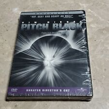Pitch Black (Dvd, 2000, Unrated) Vin Diesel Cole Hauser Keith David New Sealed