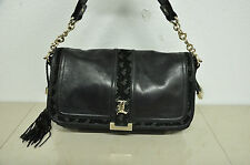 L.A.M.B Gwen Stefani Black Leather handbag Shoulder Bag Purse