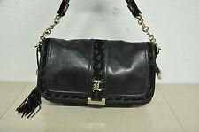 L.A.M.B Gwen Stefani Black Leather handbag Shoulder Bag Purse