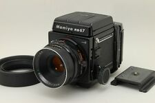 [Exc+++++] Mamiya RB67 Pro-S + C 127mm f3.8 + 220 Filmback From Japan #1357095