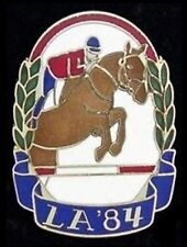 Equestrian LE Olympic Pin Badge ~ Los Angeles ~ LA 1984 ~Limited Edition ~ Horse
