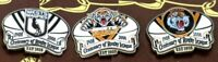 WESTS TIGERS & MAGPIES & BALMAIN 2008 CENTENARY PINS