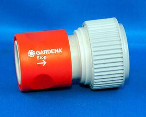 """1x GARDENA Schlauchkupplung Wasserstop G 3/4"""" Schlauchverbinder Schnellkupplung"""