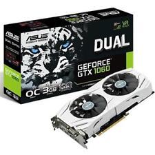 ASUS NVIDIA GeForce GTX 1060 3gb Dual OC White Graphics Card - VR Ready