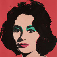 Elizabeth Taylor (Liz) 1967 by Andy Warhol - Poster Wall Art (Colour Variations)