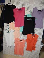 Lot of 9 Women's New York & Company stretch sleeveless tank tops - size XS