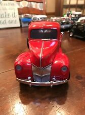 1940 Ford Pickup Truck Red Motormax 73170 1/18 Scale Diecast Model Toy Car