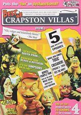 Best of Crapston Villas Vol. 1 (DVD, 2004) Troma! BRAND NEW! FACTORY SEALED!