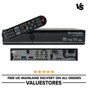 Dynavision DL-300 Free To Air Full HD 1080P Digital Satellite Receiver STB NEW