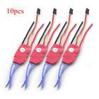 NEW 10pcs 2-3S 12AMP 12A SimonK firmware Brushless ESC 5V/3A w/BEC Quad Multi F