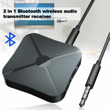 2 in 1 Bluetooth Wireless 4.2 Audio Transmitter car music TV Receiver Adapter US