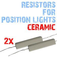 2x résistance anti message erreur ODB CanBus 10W T10 W5W LED Ceramique 2C5 2C5A